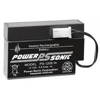 PS-1208  - Powersonic Sealed Lead Acid Battery | bbmbattery.com