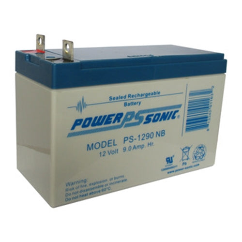 Power-Sonic  PS-1290NB Nut & Bolt Sealed Lead Acid Battery | bbmbattery.com