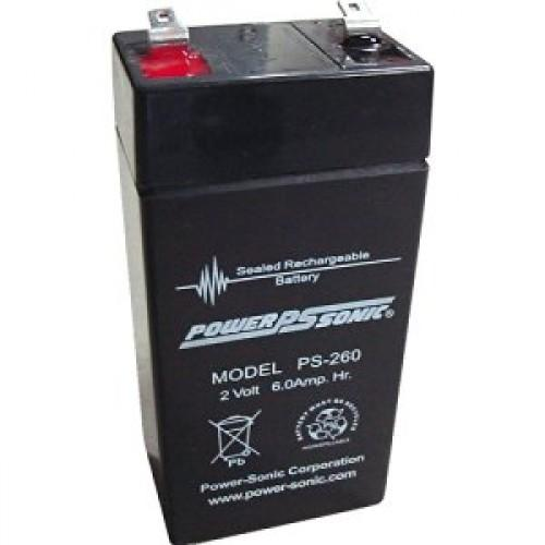 Power-Sonic  PS-260 Sealed Lead Acid Battery | bbmbattery.com