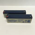 Siemens 6EP4132-0GB00-0AY0 Batteries for UPS System - 24V/2.9AH - set of 2