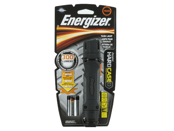 Energizer TUF2AAPE Flashlight with Hard Case and LED