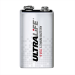 Ultralife U9VL Battery - 9 volt Lithium