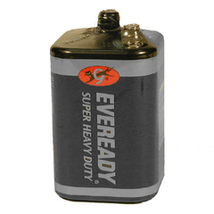 Eveready 1209 Super Heavy Duty 6 volt Spring Lantern Battery