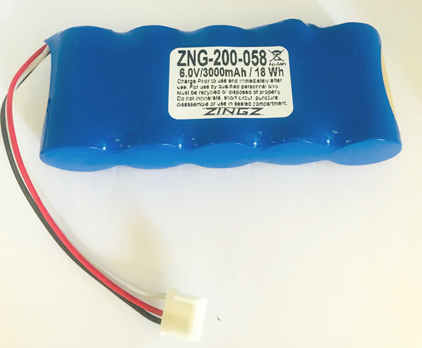 Replacement Battery for GE Magna- Mike 8500 - TEB-200-058 -ZNG-200-058 | bbmbattery.com