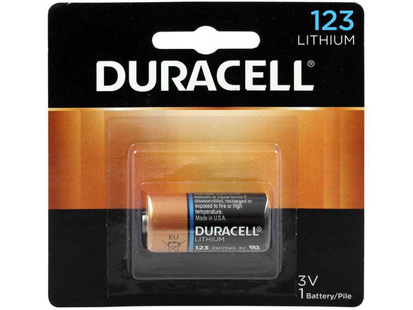 Duracell DL123ABU Lithium Photo Batteries 123 3v