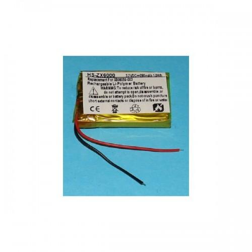 Microsoft 3.7 V Li Polymer Battery for Microsoft Lifechat ZX-6000 & X808059-003