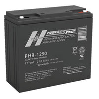 PHR1290 , PHR-1290 Power-Sonic Sealed Lead Acid Battery | bbmbattery.com