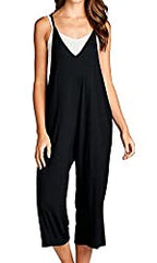 Amazon Loving People loose fit black jumpsuit