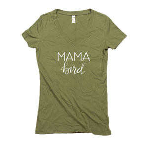 Mama Bird Hemp V-Neck T-Shirt