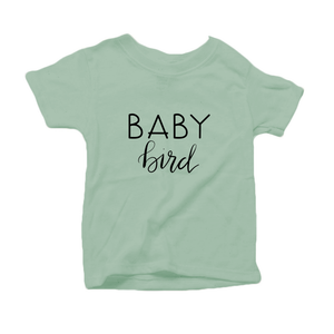 Baby Bird Organic Cotton Toddler Short Sleeve Crew Tee