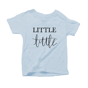 Little Little Organic Cotton Toddler Short Sleeve Crew Tee