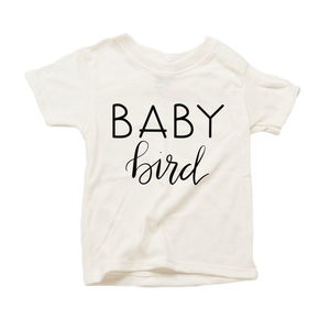 Baby Bird Organic Sand Triblend Infant Short Sleeve Tee