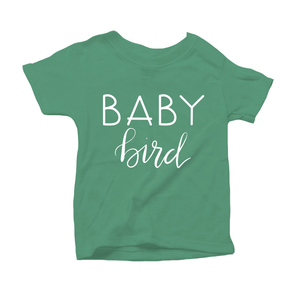 Baby Bird Organic Green Triblend Infant Short Sleeve Tee