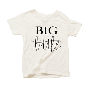 Big Little Organic Sand Triblend Infant Short Sleeve Tee