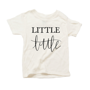 Little Little Organic Cream Triblend Infant Short Sleeve Tee