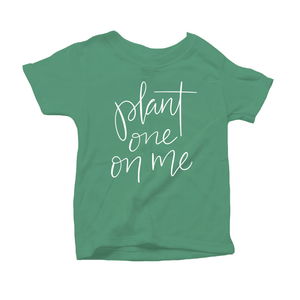 Plant One on Me Organic Green Triblend Infant Short Sleeve Tee