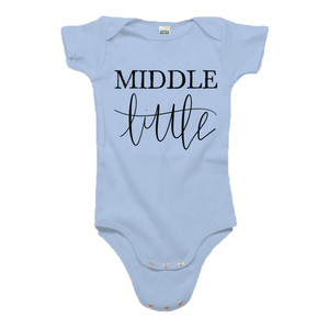 Middle Little Organic Cotton Onesie