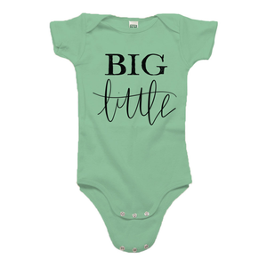 Big Little Green Organic Cotton Onesie