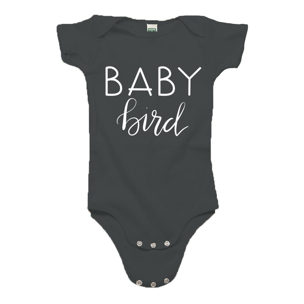 93e4c9995 Baby Bird Organic Cotton Onesie - August Mamas