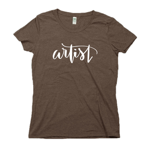 Artist Organic Brown RPET Blend T-Shirt