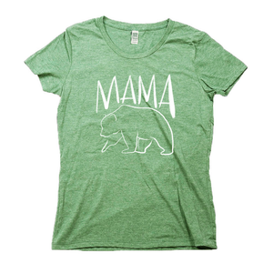 Mama Bear Organic Green RPET Blend T-Shirt