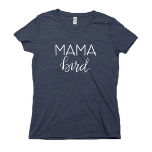Mama Bird Organic Navy RPET Blend T-Shirt