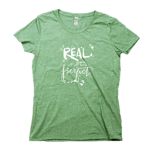 Real Not Perfect Organic Green RPET Blend T-Shirt