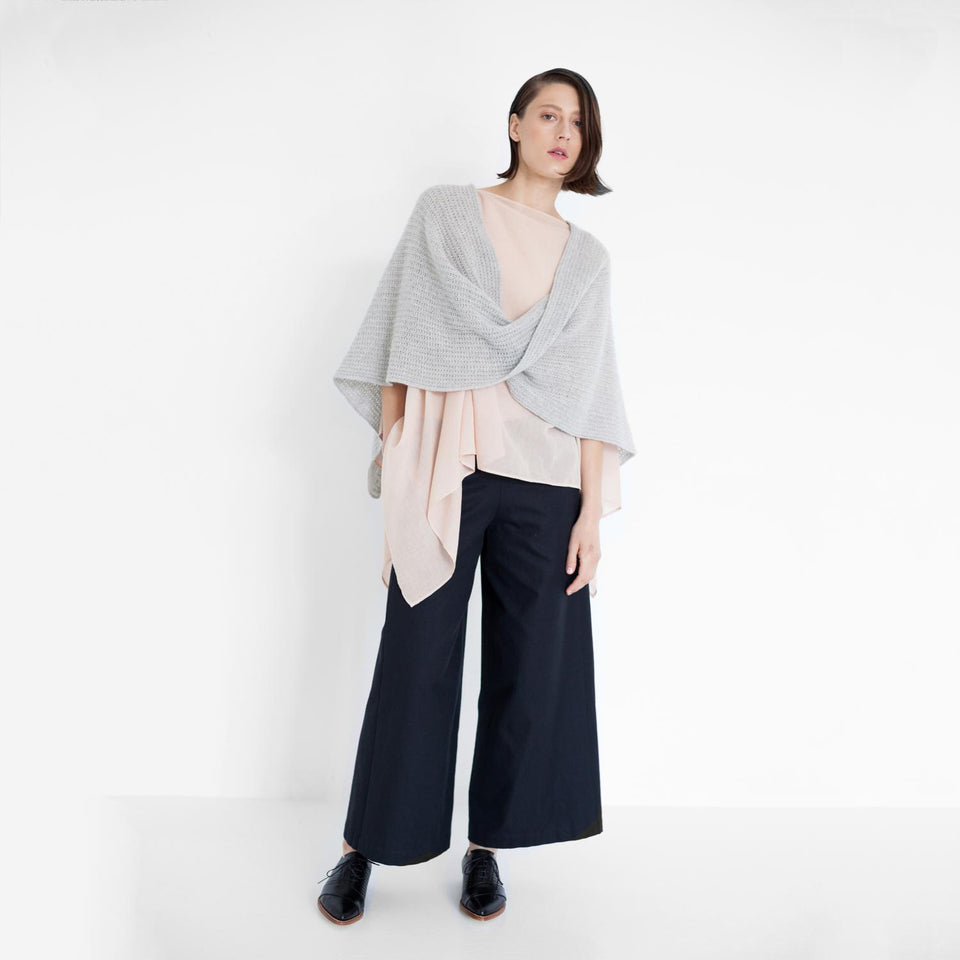 robuste pants made of organic twill by Natascha von Hirschhausen fashion design made in Berlin