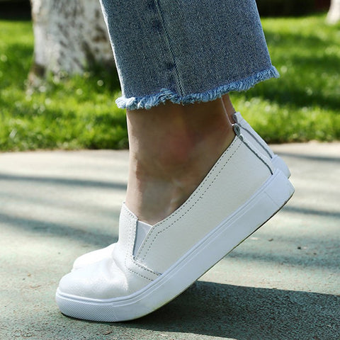 Women Lazy Casual Slip On Classic Loafers