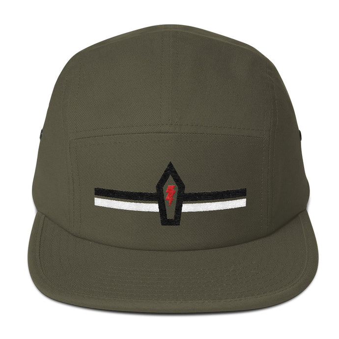 Coffin Bolt 5-Panel Cap - Overmodulated
