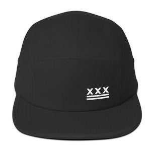 D.C. Hardcore Flag 5-Panel Cap - Overmodulated