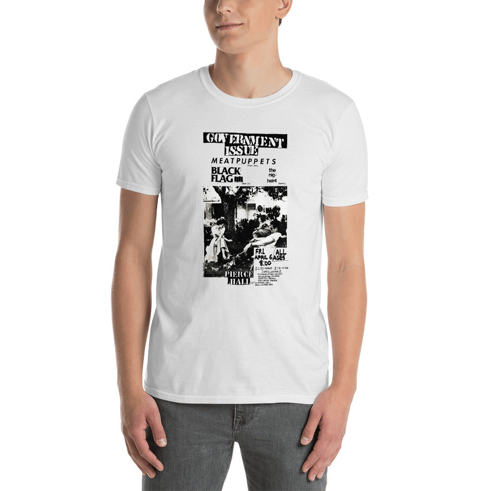 Government Issue Gig Poster tee - Overmodulated