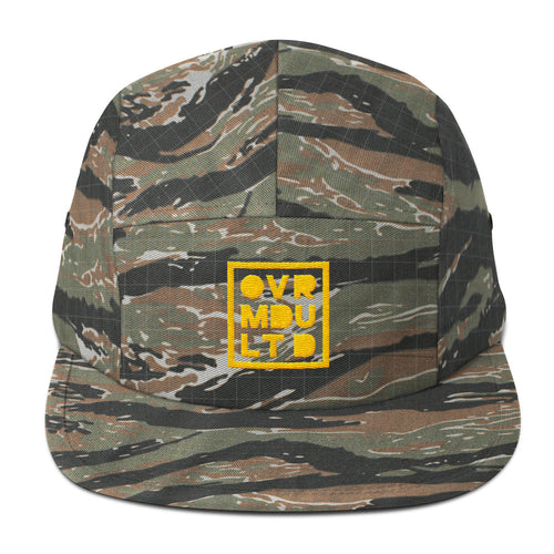 Overmodulated Squared-Out Logo 5-Panel Cap - Overmodulated