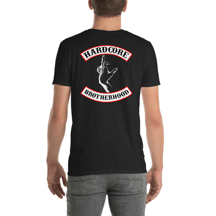 Hardcore Brotherhood tee - Overmodulated