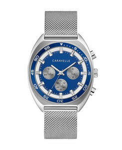 Caravelle by Bulova Men's Chronograph Watch & Interchangeable Band Set