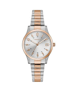 Caravelle by Bulova Women's Two-Tone Expansion Watch