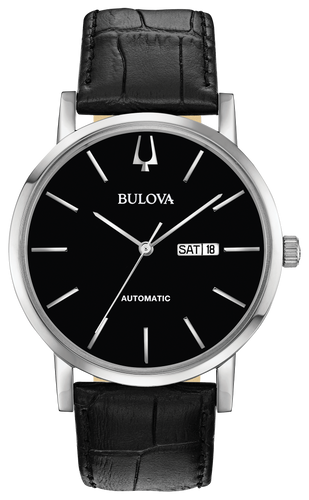 Bulova  Classic Automatic Black Dial Men's Watch