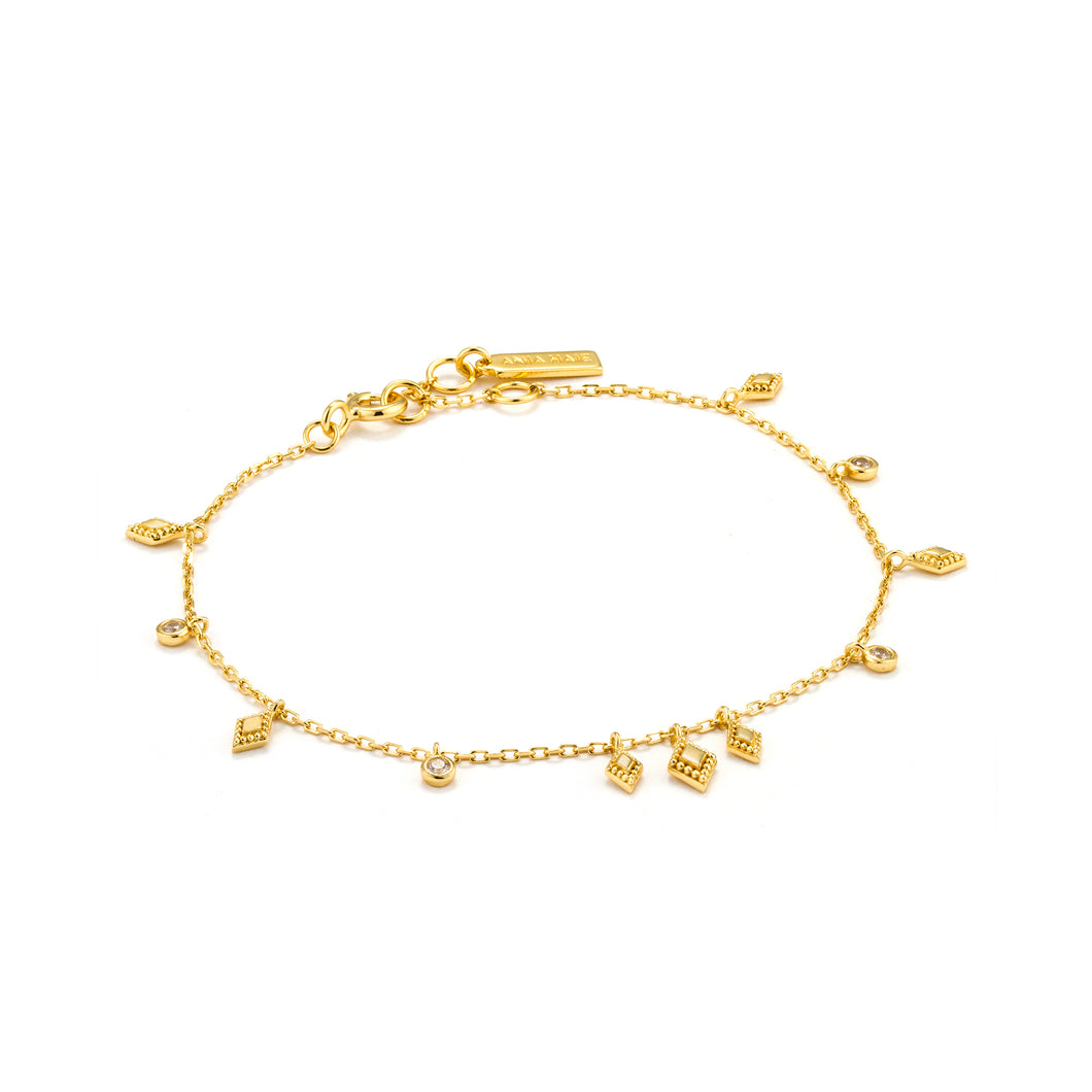 Bohemia Bracelet 925 Sterling Silver with 14kt Gold Plating