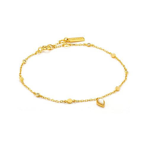 Dream Bracelet Sterling Silver with 14K Gold Plating