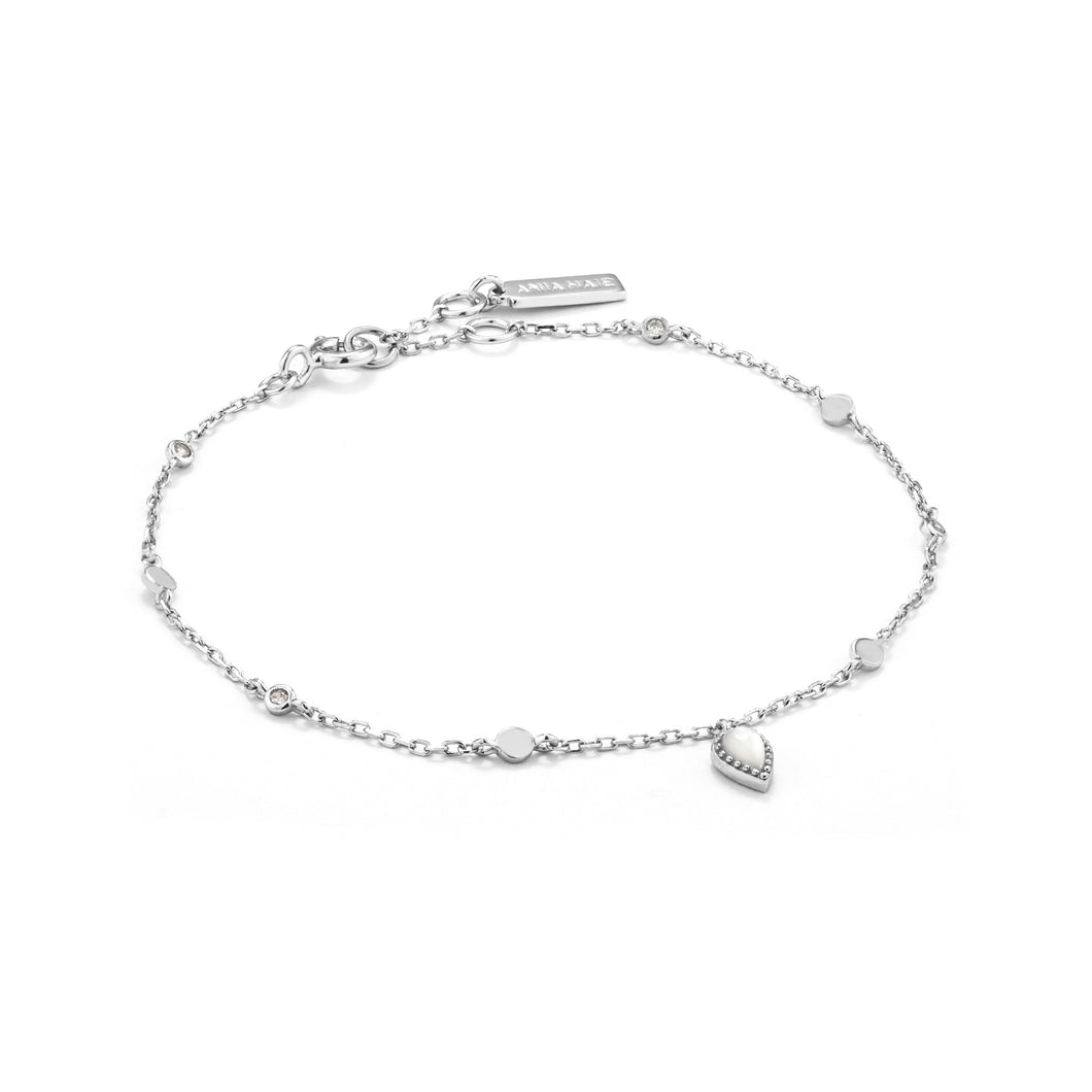 Dream Bracelet Sterling Silver with Rhodium Plating