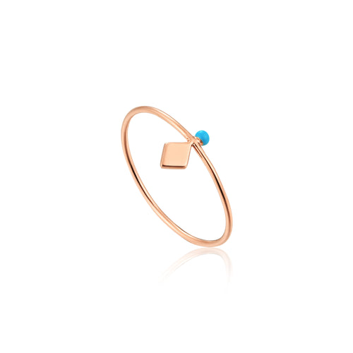 Connect The Dots Dotted Stud Ring