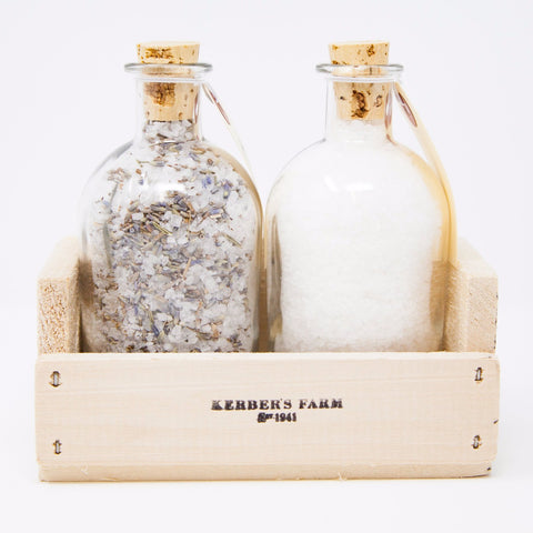 Organic Lavender and Sea Salt Gift Crate