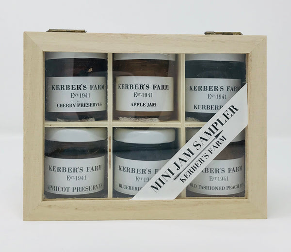 Mini Jam Sampler Gift Crate