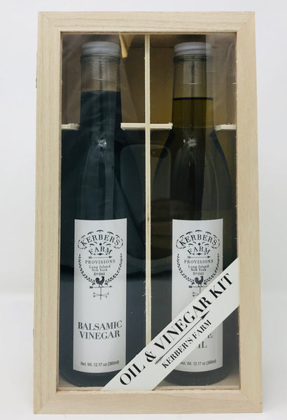 Olive Oil and Balsamic Vinegar Gift Crate