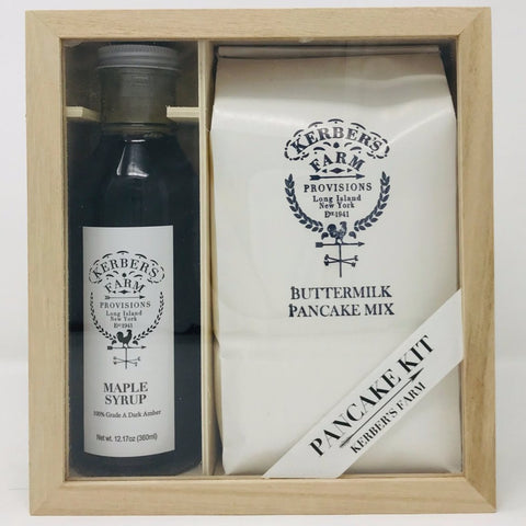Buttermilk Pancake and Maple Syrup Gift Crate