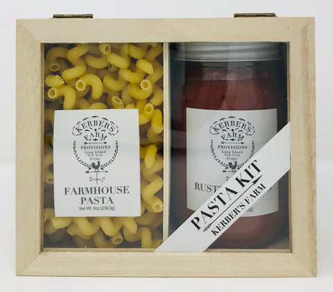 Rustic Tomato Sauce and Farmhouse Gift Crate