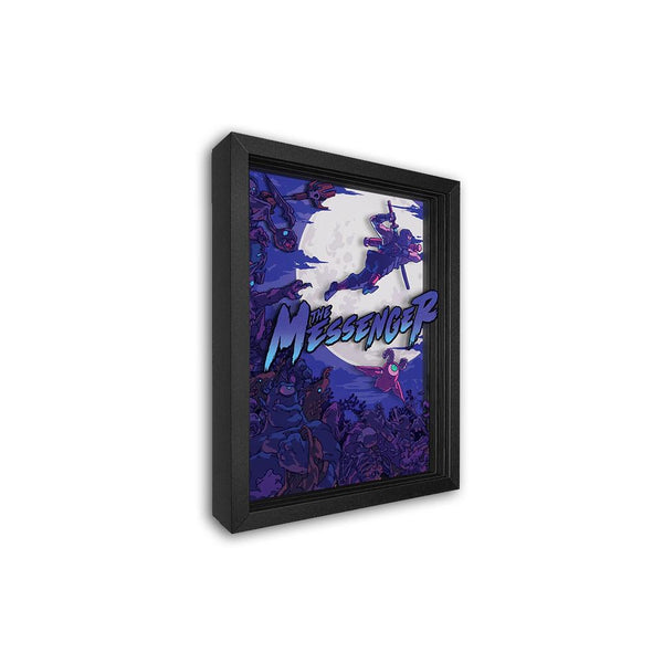 The Messenger Shadowbox Art