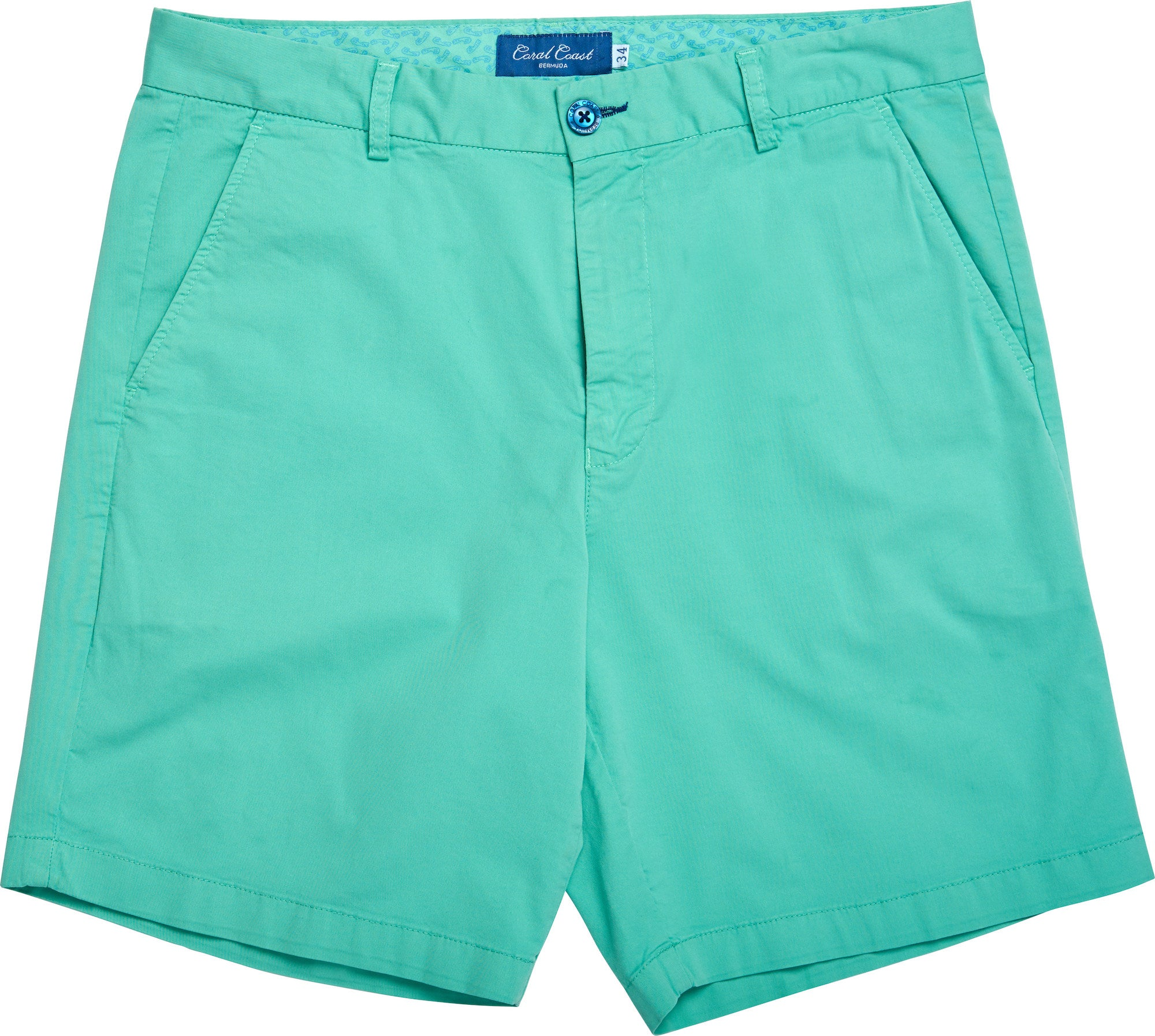 ELECTRIC GREEN BERMUDA SHORT