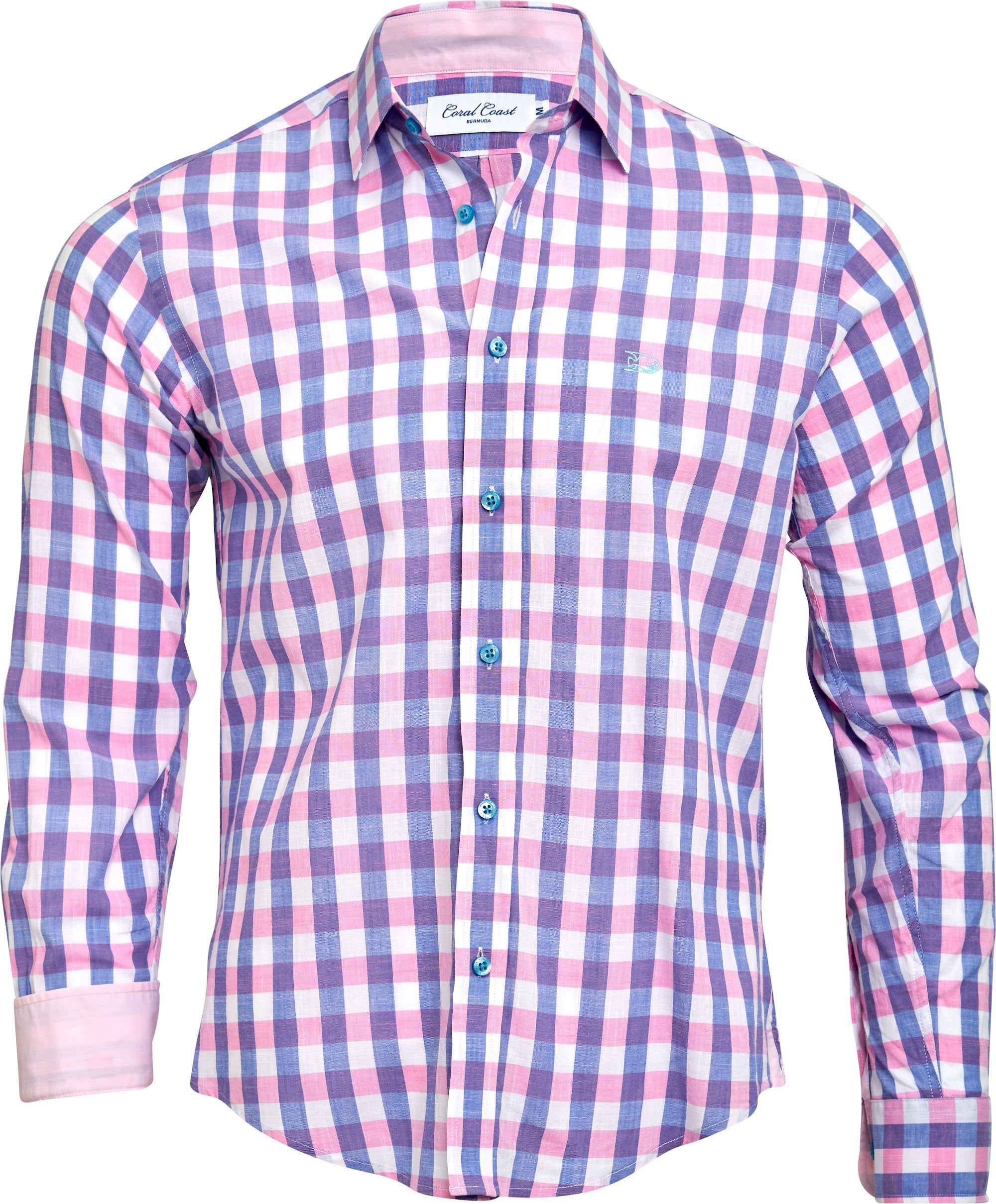 PINK N' BLUE BIG CHECK