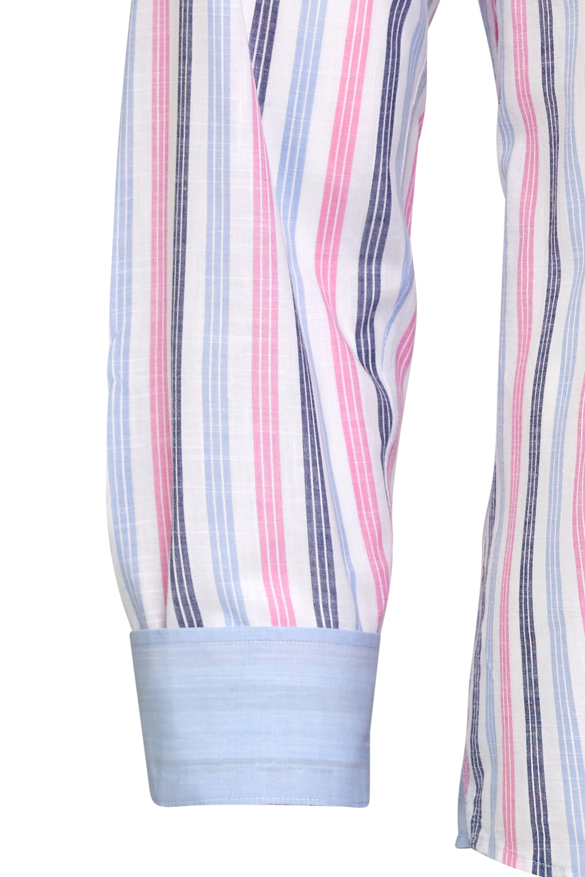 Pink n' Blue Stripe Dress Shirt